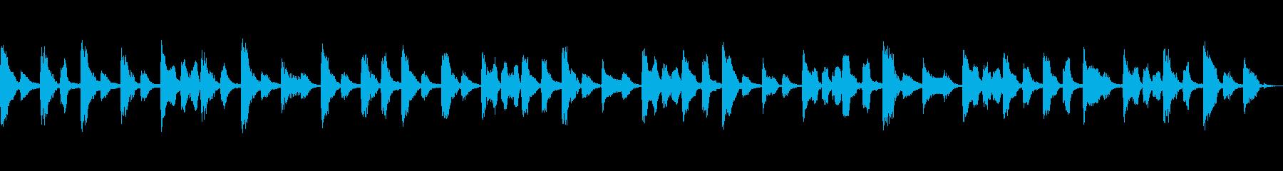 シンプルでメロディーのある、ポジテ...の再生済みの波形