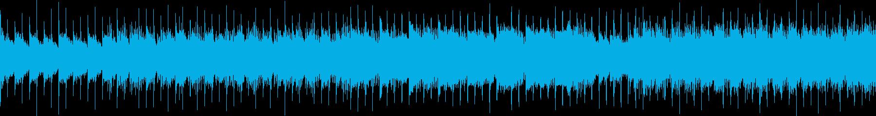 ループ CMや企業VPに バイオリンの再生済みの波形