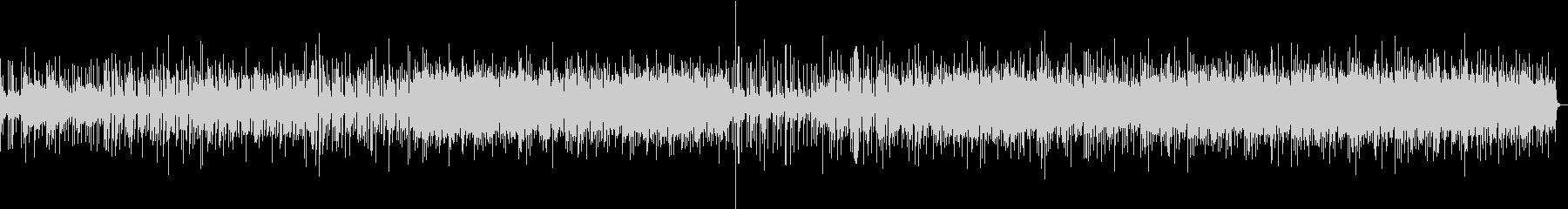 クールでダークなグルーブ感あるファンクの未再生の波形