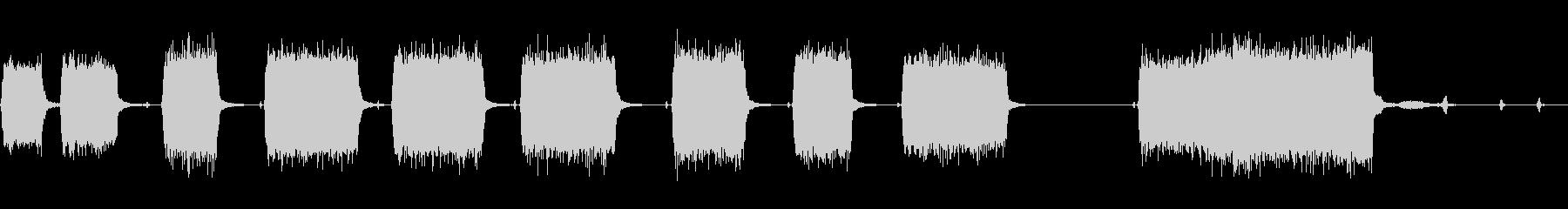 プロフェッショナルオートモーティブ...の未再生の波形