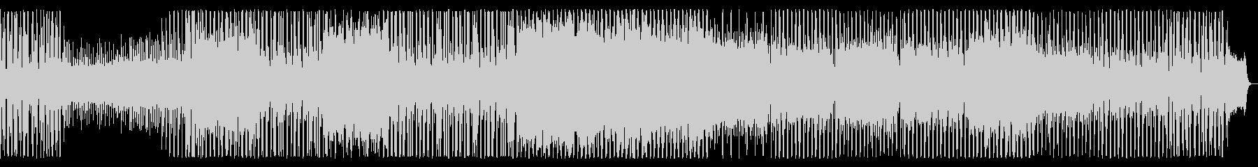クールな印象のスローバラードの未再生の波形