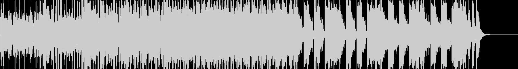 ラジオ、CM、ノリ良い軽快なピアノポップの未再生の波形