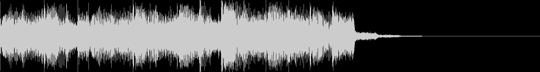 エレクトロハウスなアイキャッチの未再生の波形