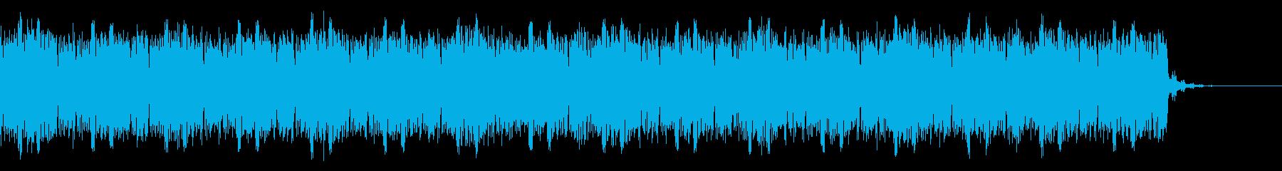 デジタル、CG、SFX等の映像ショート①の再生済みの波形