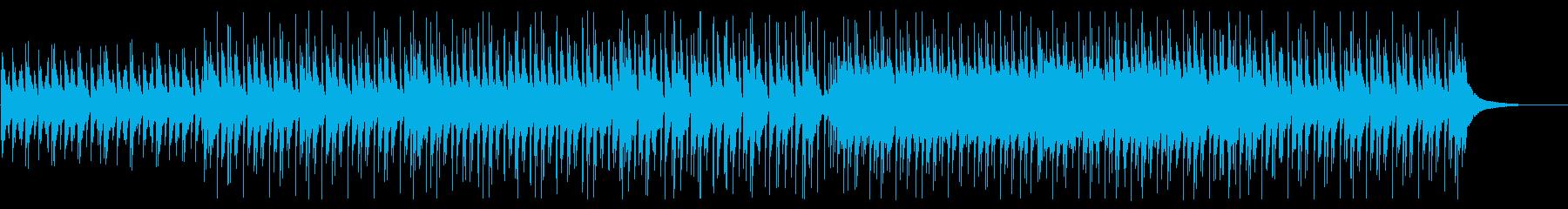 軽快でわくわくするアコースティックポップの再生済みの波形