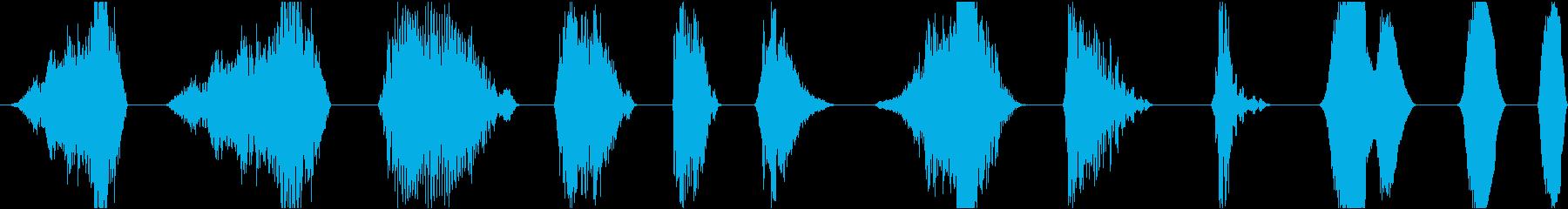 低金属宇宙フォースフィールドグロー...の再生済みの波形
