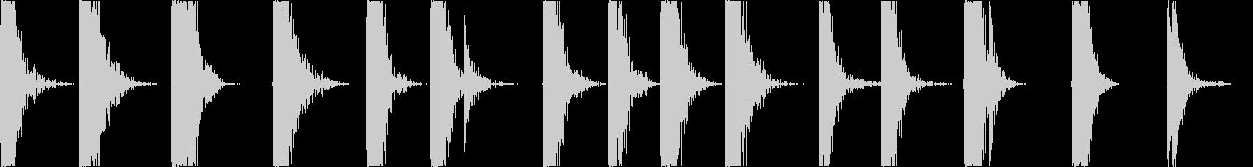 ハードメタルガードインパクト、クイ...の未再生の波形