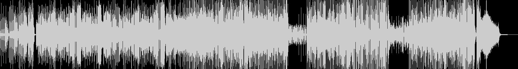カートゥーン調のトラン… 後半ドラムの未再生の波形