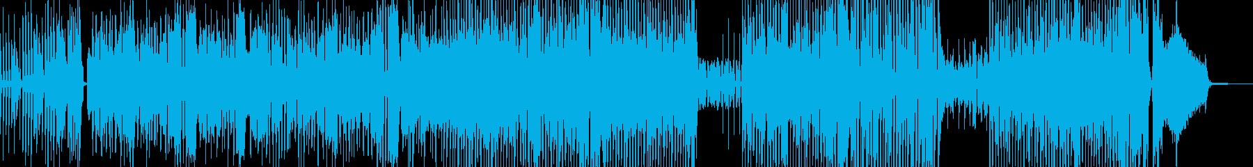 カートゥーン調のトラン… 後半ドラムの再生済みの波形