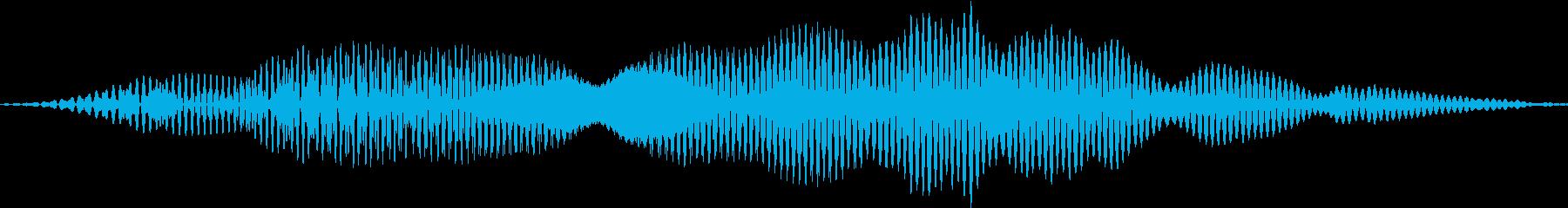 ヒョイッ(かわいい カーソル ジャンプ)の再生済みの波形