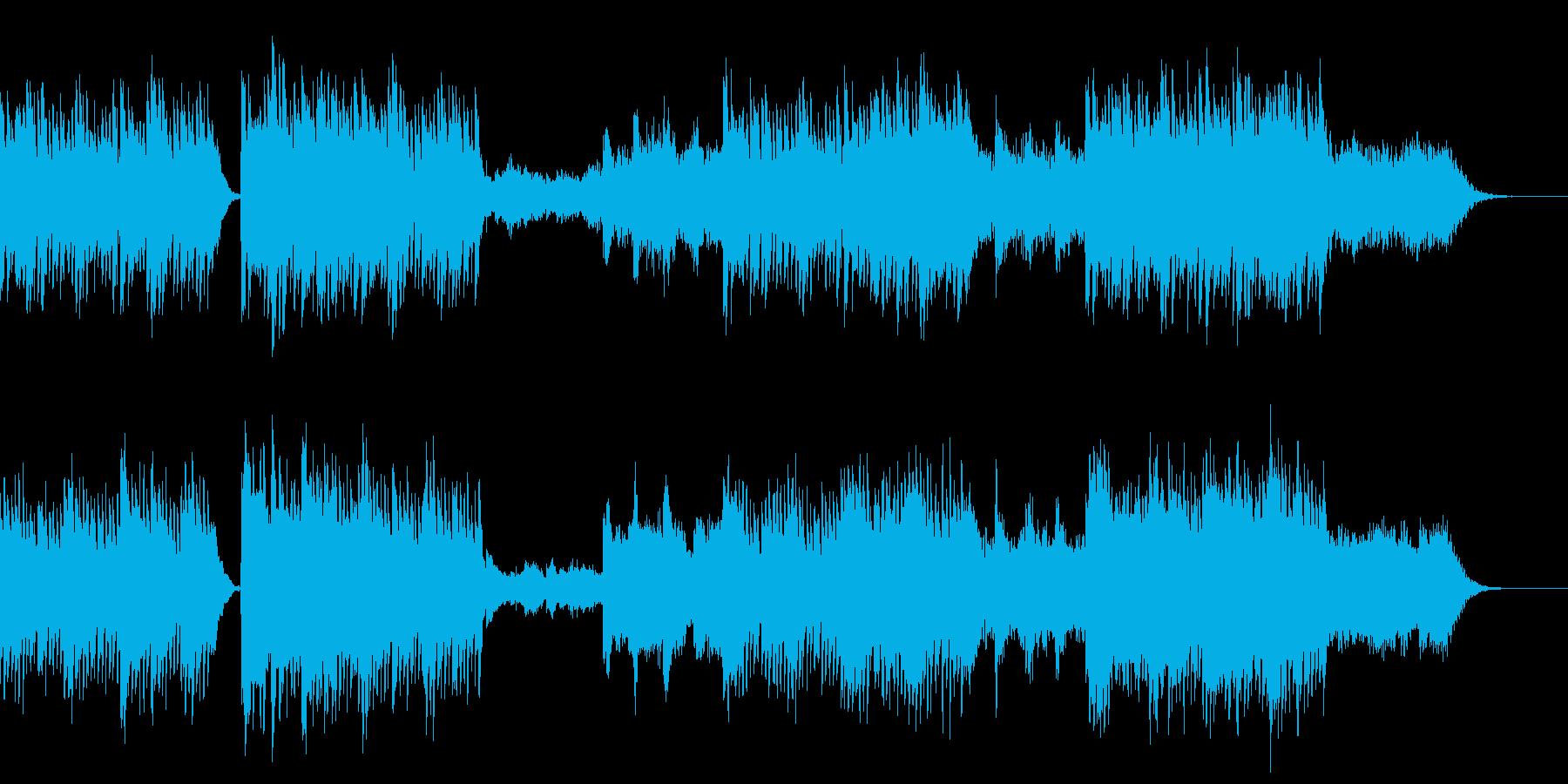 エステ、ヨガ、森、アンビエント、シタールの再生済みの波形