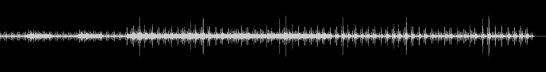 bpm100バージョンの未再生の波形