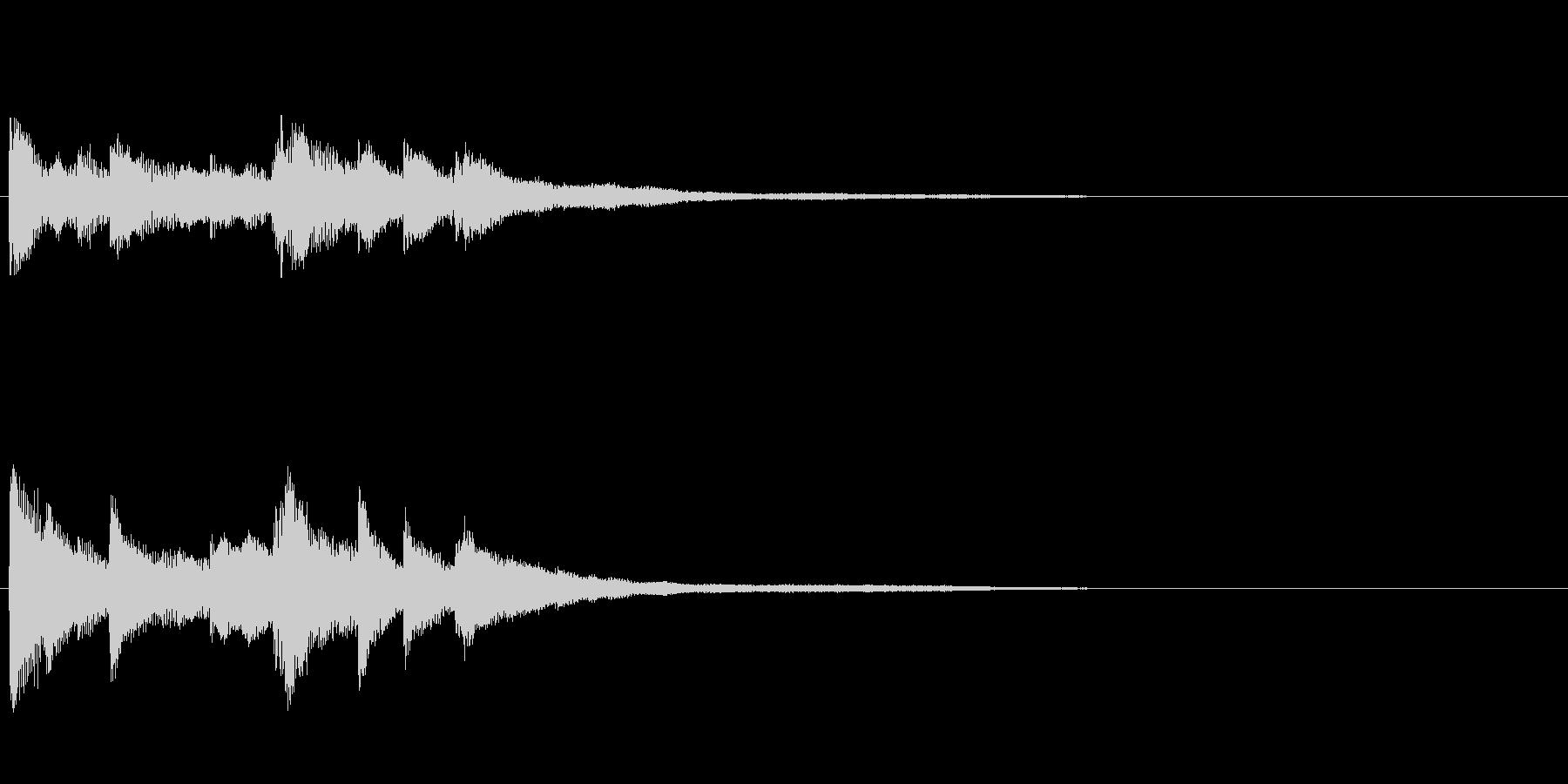 ピアノジングル04_dの未再生の波形