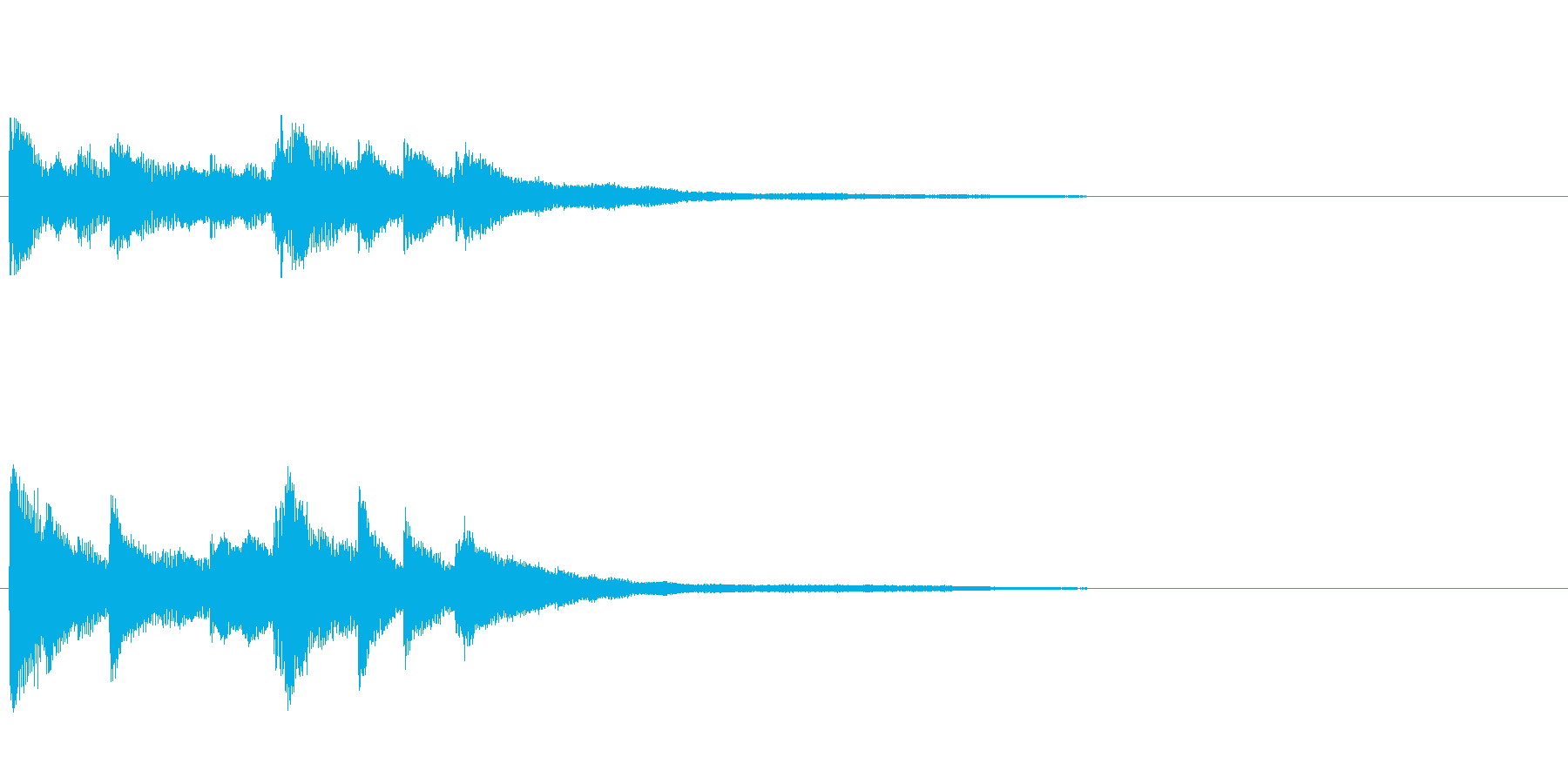 ピアノジングル04_dの再生済みの波形