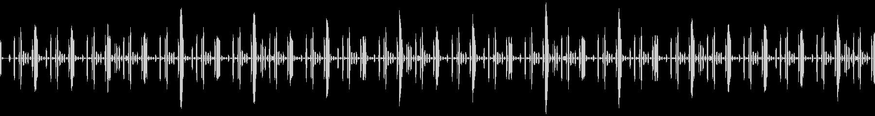 EDM、CLUB系のリズムループの未再生の波形