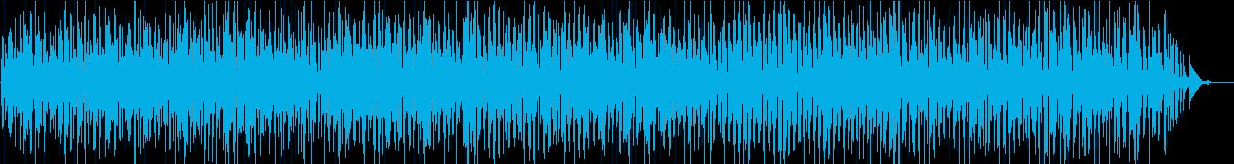 ウッドベースのきいたボサノバの恋ソングの再生済みの波形