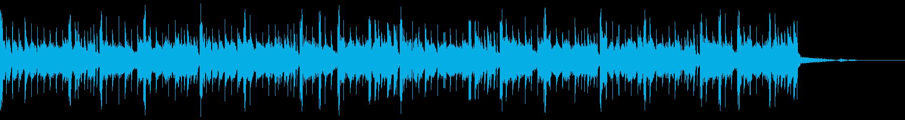 YoutubeのEDチックBeatの再生済みの波形