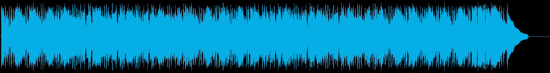 ムードのあるジャズミュージック。の再生済みの波形