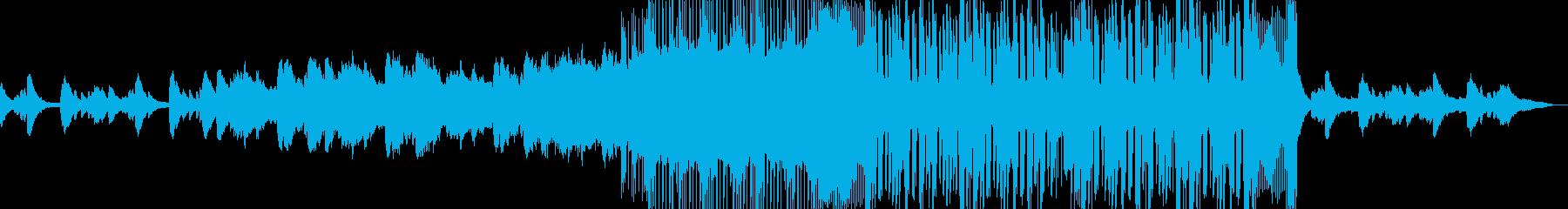 ゲーム・ミステリーな始まりのオーケストラの再生済みの波形