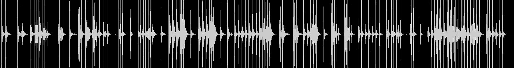 三味線116連獅子9楽歌舞伎生音和風親子の未再生の波形