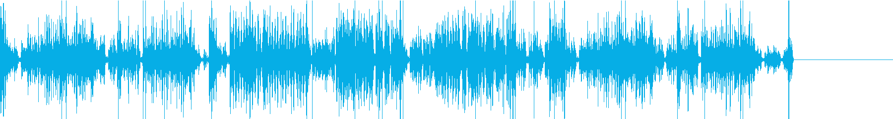 機会が壊れた時になるノイズ音の再生済みの波形