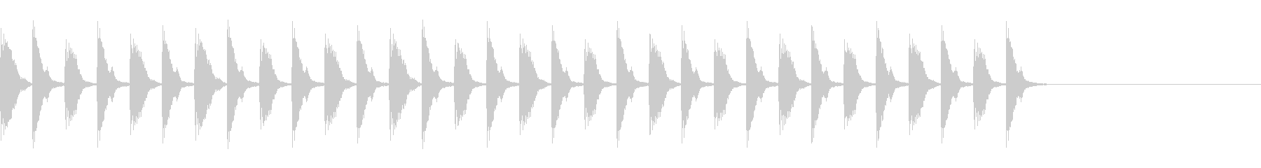 ポカポカ殴るA02の未再生の波形