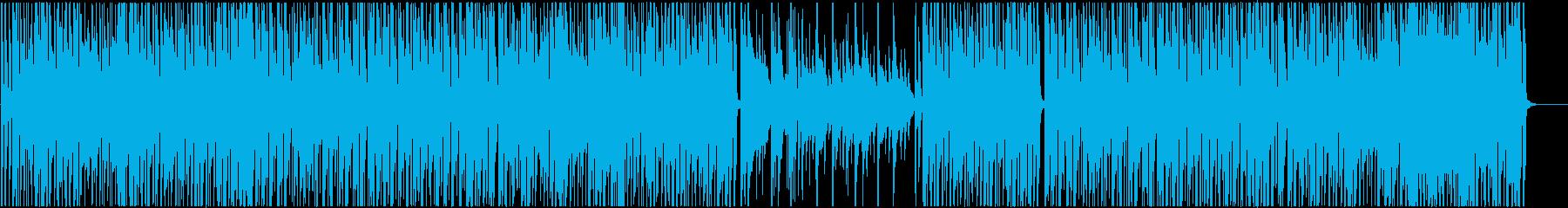STEM -ブラスとギター抜きバージョンの再生済みの波形