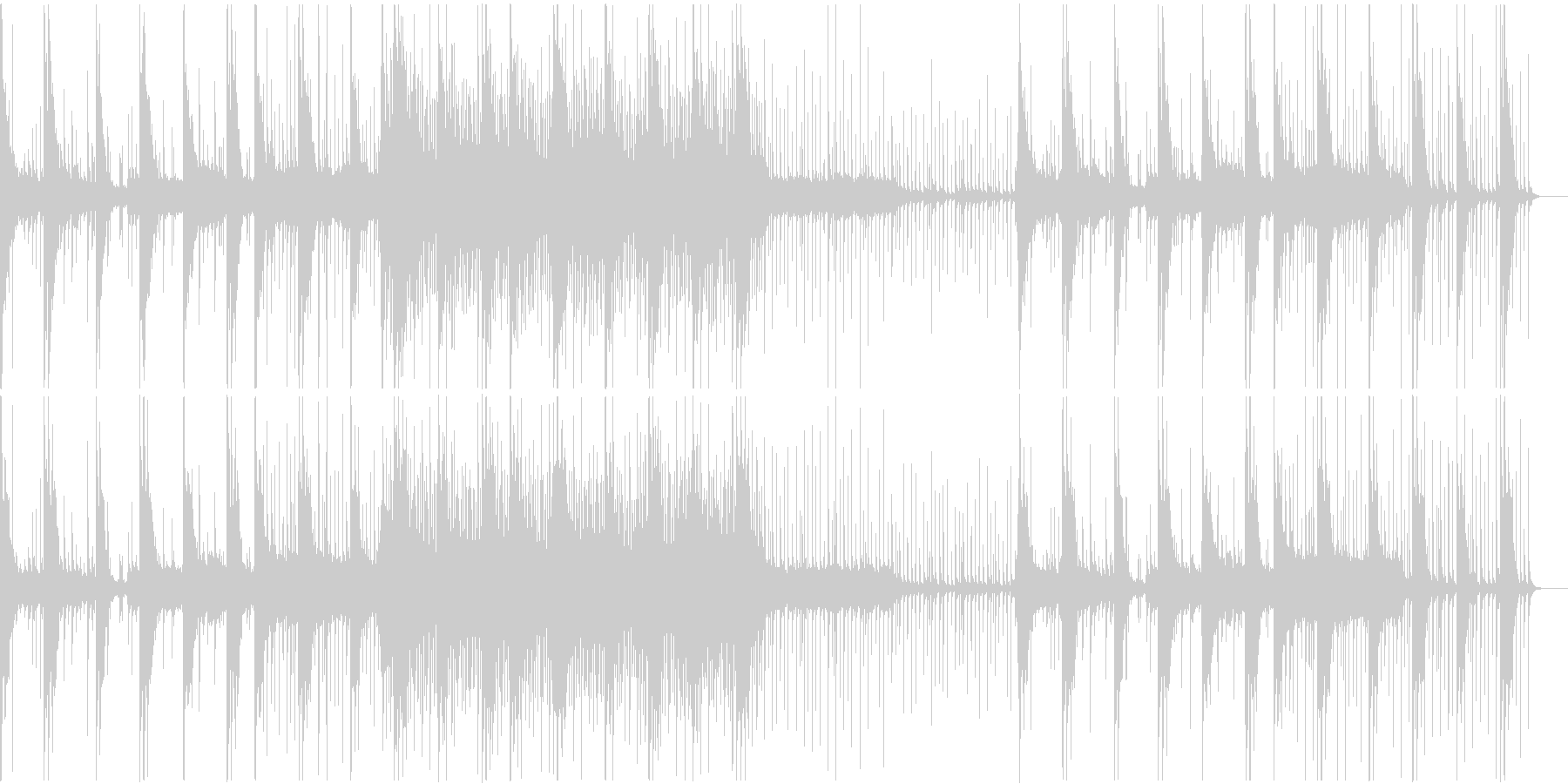 和風 ホラー 京都の未再生の波形