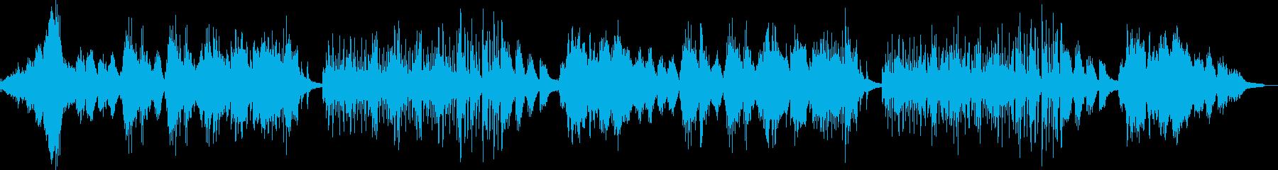 ピアノと弦楽器中心の爽やかなサウンドの再生済みの波形