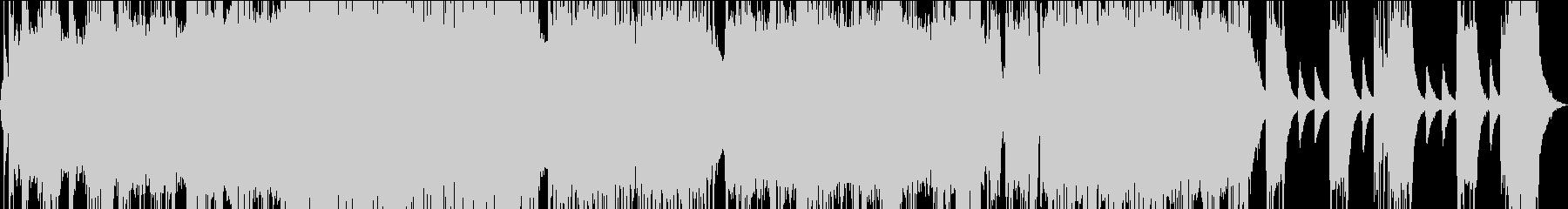 ダークに轟く重低音なバンドサウンドの未再生の波形