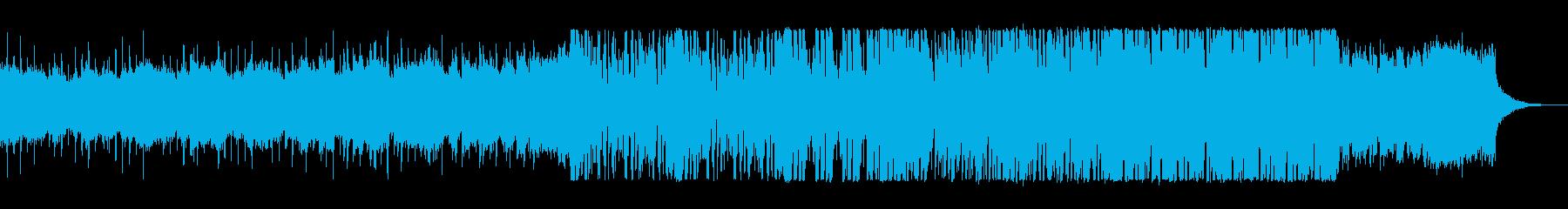 リズミカルでキャッチ―なテクノポップの再生済みの波形