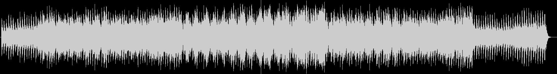 少し切ないキラキラしたシンセ曲の未再生の波形