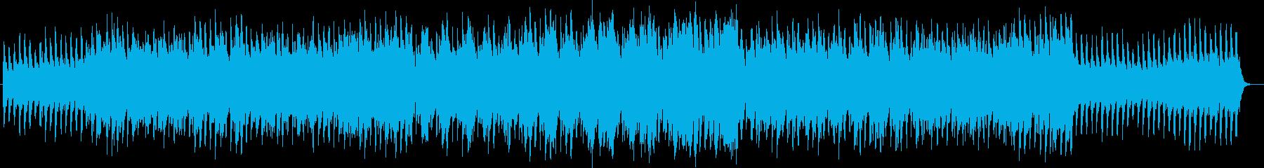 少し切ないキラキラしたシンセ曲の再生済みの波形