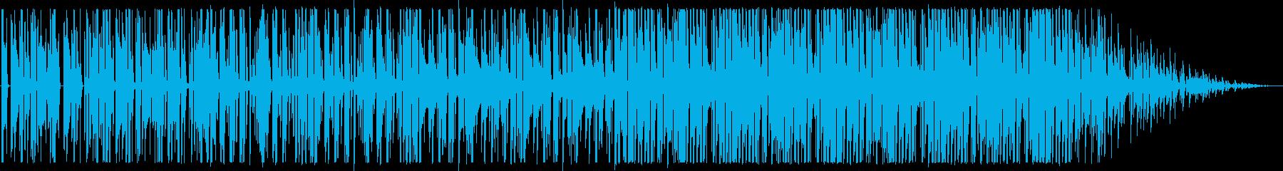 ビートの強いヒップホップ_No445_3の再生済みの波形