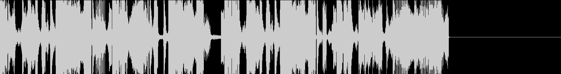 【短めのアバンに】短めのグリッチホップの未再生の波形