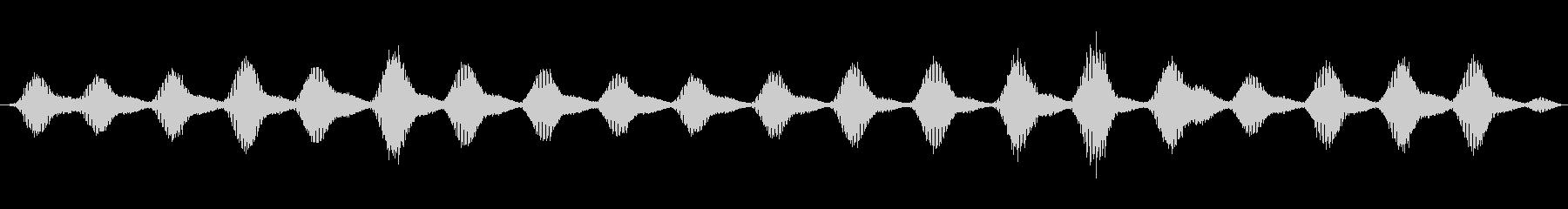 特撮 ホログラムシーケンス01の未再生の波形