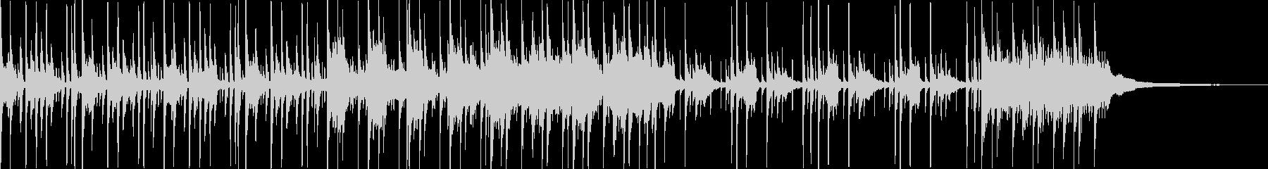 ドラム・ピアノ打ち込み音源の未再生の波形