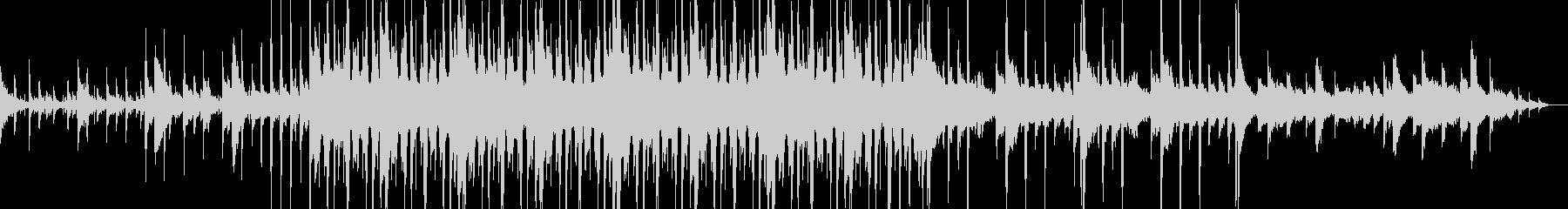 Lo-Fiで悲しげなジャズホップの未再生の波形