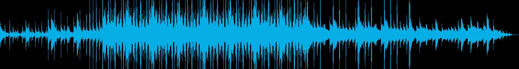 Lo-Fiで悲しげなジャズホップの再生済みの波形