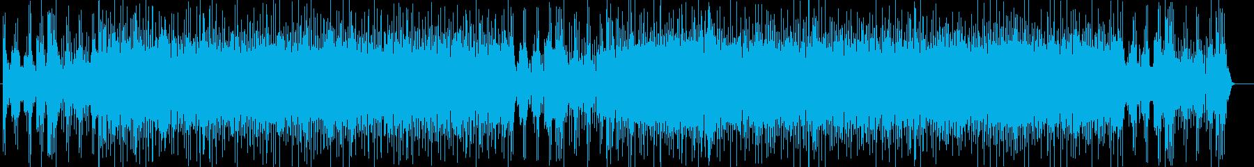 渋谷系acid jazzオルガンファンクの再生済みの波形