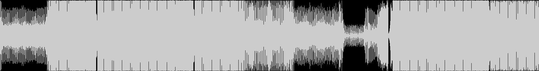 テクノ トランス アグレッシブ 前向きの未再生の波形