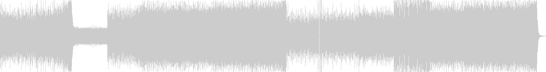 疾走感のあるカッコイイイメージのEDMの未再生の波形
