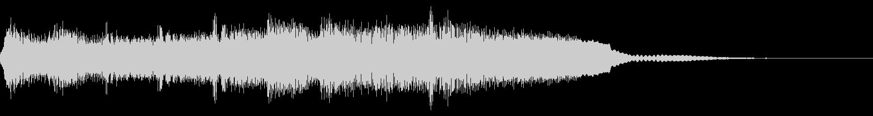 ホラー、ADV向け重苦しい背景音の未再生の波形