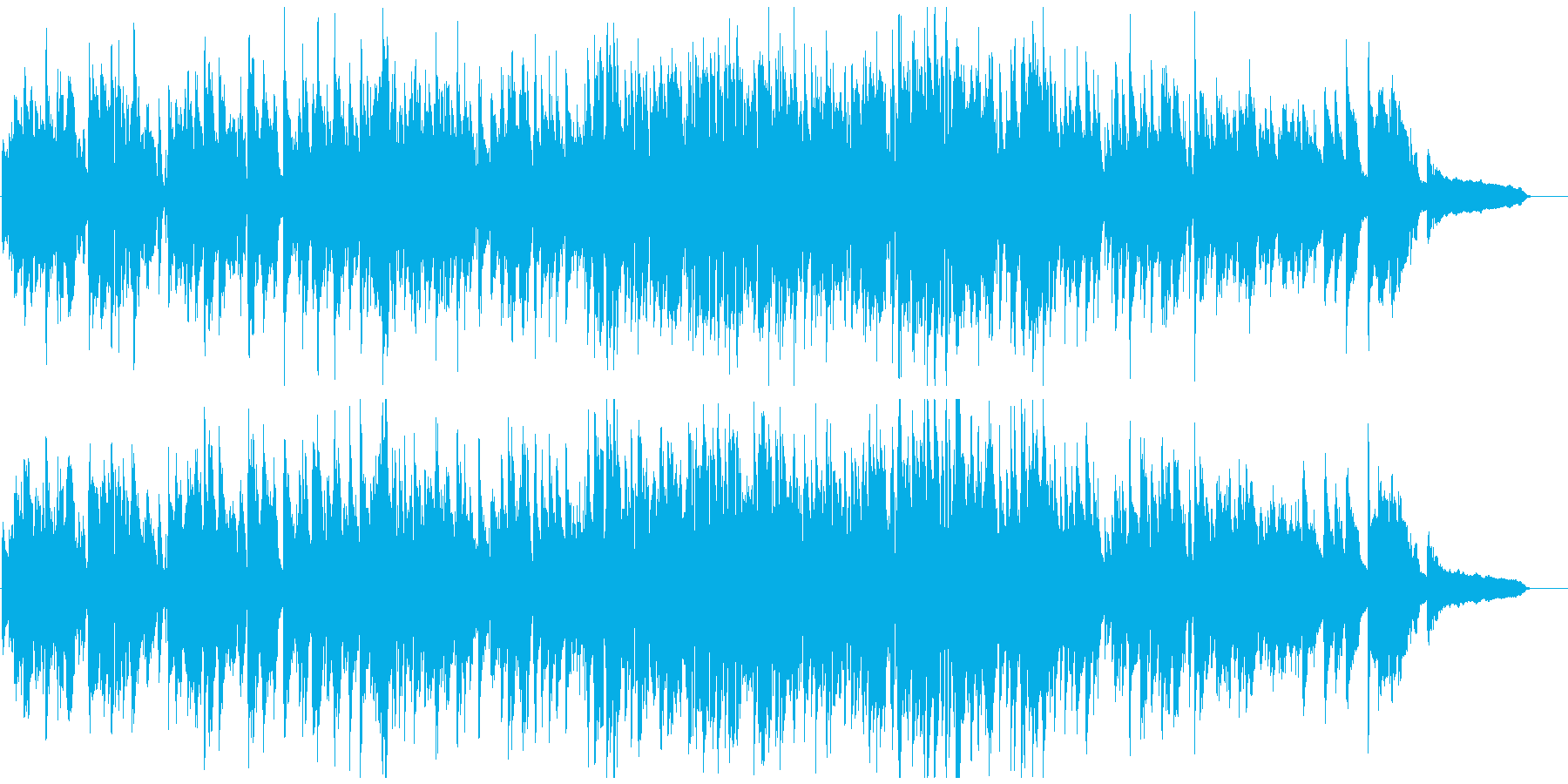 素敵な夜のロマンチックなジャズ・ワルツの再生済みの波形