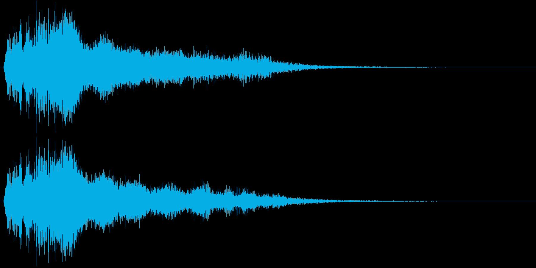 日光・UV・紫外線(短)の再生済みの波形
