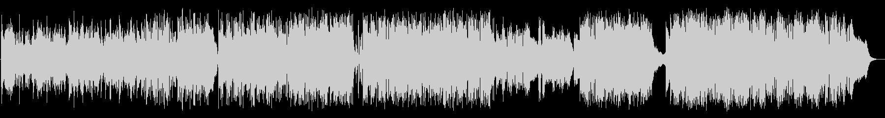 J-POP風スタイリッシュバラードの未再生の波形