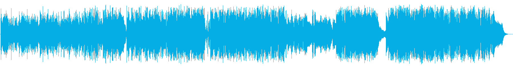 J-POP風スタイリッシュバラードの再生済みの波形
