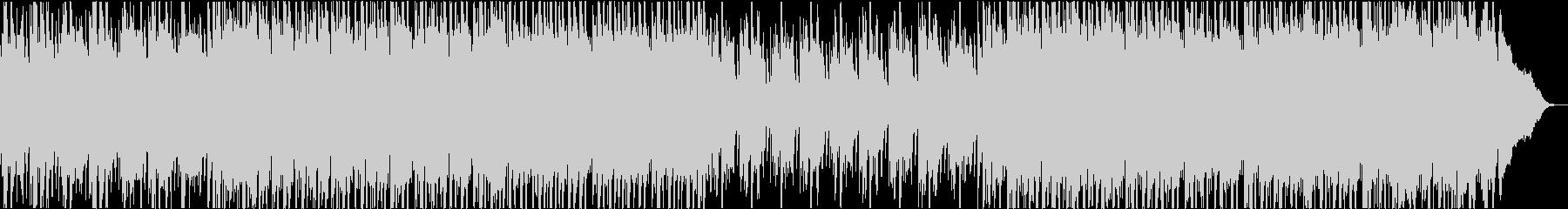 さわやなアコギのトロピカルハウスの未再生の波形