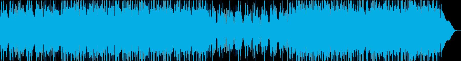 さわやなアコギのトロピカルハウスの再生済みの波形