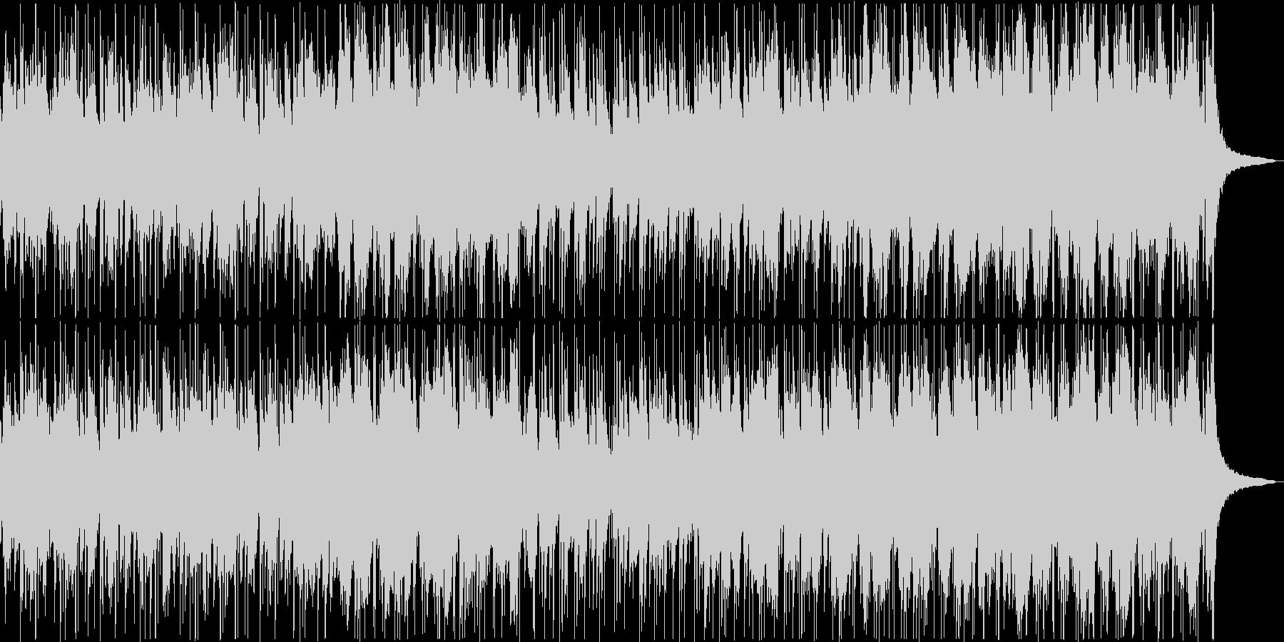 鼓と琴と落ち着いた尺八が和風なポップスの未再生の波形